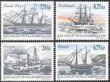 Greenland 2003 Ships/Boats/Sailing/Nautical/Transport/Fishing 4v set (n43685)