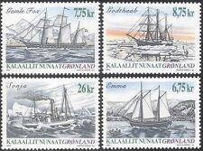 Greenland 2003 Ships/Boats/Sailing/Nautical/Transport/Fishing 4v set (n43685)