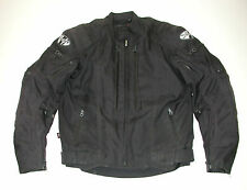 JOE ROCKET Men's Black Waterproof Textile Motorcycle Biker Jacket, Sz: S