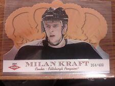 2000-01 Crown Royal SP Rookie 354/400 Milan Kraft RC Card 138