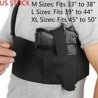 US Underarm Adjustable Shoulder Pistol Gun Holster Right Hand Fits All Pistols