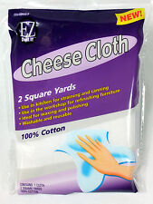 100% Cotton Cheese Cloth 2 Sq Yards Kitchen Straining Canning Cleaning Washable
