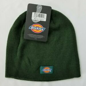Dickies Adult Core Beanie Knit Hat Hunter Dark Green OSFM