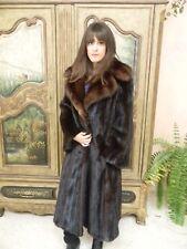 Mink Fur Coat w/Russian Sable Collar Traeger Furs