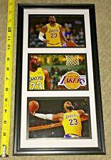 "LEBRON JAMES Los Angeles Lakers Legend ~ 15x8"" FRAME ~ WALL ART DECOR NBA"