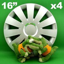 "Radkappen 16"" BEAT ★4 Stück★ SILBER AUDI A3 A4 FORD C-Max Focus Galaxy Kuga SMax"