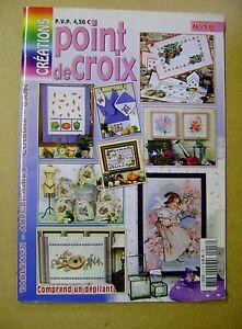 Magazine  Créations point de croix  N°18 /H19