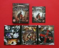 Dante's Inferno Death Edition Sony ps3 Game With Manual Playstation 3