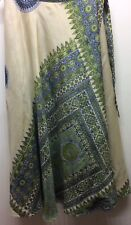 Wrap Around Women Skirt Reversible 100% Silk Multi Couple Tribal Floral Sarong