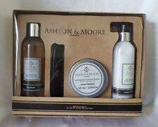 Men Ashton & Moore London Bourbon & Sandalwood Shampoo, Conditioner Hair Pomade