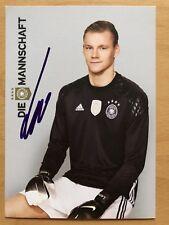 Bernd Leno AK DFB 2016 Autogrammkarte original signiert