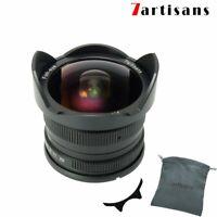 7artisans 7.5mm f2.8 Manual Lens for Fujifilm XF X-A3 X-A10 X-E2 X-T2 FX Mount