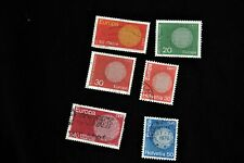 Lot timbres Europa 1970