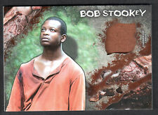 THE WALKING DEAD SURVIVAL BOX Topps RELIC COSTUME MATERIAL CARD BOB #22/25