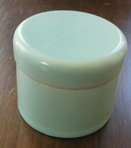Poole pottery pill (snuff) box in rare early 'Ice Green' glaze 1940s. very good!