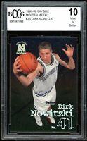 1998-99 Skybox Molten Metal #35 Dirk Nowitzki Rookie Card BGS BCCG 10 Mint+