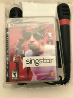singstar ps3 bundle (mics & converter) new-factory sealed playstation 3