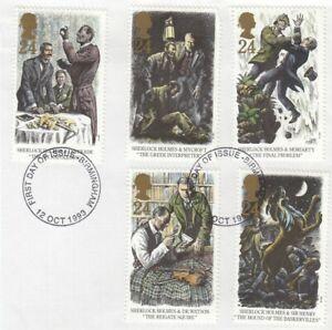 (83689) GB Used Sherlock Holmes 1993 ON PIECE