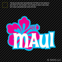 Kanaka Maoli Rasta Maui Hawaiian Islands sticker decal Hawaii Lahaina Kaanapali