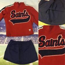 Real Cheerleading Uniform Saints Adult S