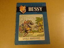 BD EO STUDIO VANDERSTEEN / BESSY N° 23 - LA VILLE ABANDONNÉE