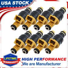 8 Inyector De Combustible Flujo emparejado para Ford F-150 F-250 22lb/3Bar 5.7L 5.0L 0280150718