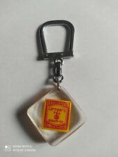 Porte-clés BOURBON cage Thé Infusion LIPTON'S TEA keychain vintage années 60