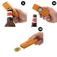 2Pcs New Beer Bottle Opener Cap Zappa Launcher Shooter By Spinning Hat Fire Cap