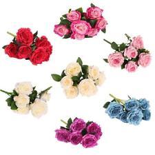 Artificial Rose Silk Flowers Lifelike Flower Floral Fake Valentines Wedding