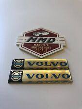 2 X Volvo Badge Decals Volvo Cars S60 XC-60 XC-70 XC-90 V-40 V-60 Volvo Power