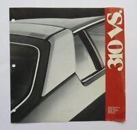 1981 Datsun 310 Comparison Brochure Vintage Original