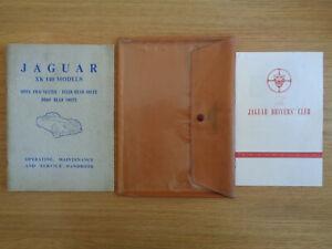 Jaguar XK140 XK 140 Owners Handbook/Manual and Pack