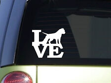 "Pitbull Love 6"" STICKER *F118* DECAL american bully pit bull apbt"