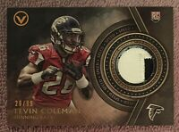 1/1 Tevin Coleman Rookie 2-Color 1 of 1 Jersey #26 RC #ed /99 Falcons 49ers