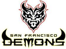 XFL Football San Francisco Demons Mens Polo XS-6XL, LT-4XLT 49ers NFL New