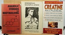 ANABOLIC STEROIDS AND BODYBUILDING Book Lot Creatine Hormonal Manipulation
