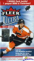 2014/15 Upper Deck Fleer Ultra Hockey EXCLUSIVE Factory Sealed Blaster Box
