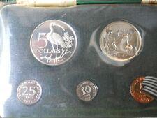1971 Trinidad and Tobago Proof Set 7-Coins -Original Box w/COA