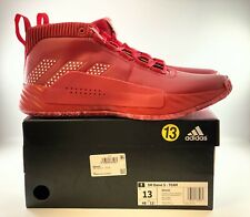 Adidas Dame 5 Shoes Men's Size 13 Red - EE5433