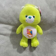 """NWT 2003 Care Bears Do Your Best Bear 8"""" Rare do-your-best Green Vintage NEW"""