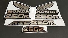 1986 HONDA ATC 250R DECALS GRAPHICS STICKER  ATC250R 86 FITS 85 1985 ATC 250R