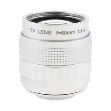 50mm F/1.4 C-Mount CCTV Lens for Panasonic Lumix DMC-GF7K/DMC-GF7C /DMC-GX7K