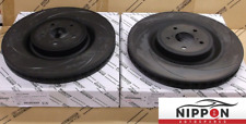 NEW GENUINE LEXUS RCF / GSF 5.0L V8 FRONT BRAKE DISCS SET (PAIR) 2014+