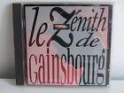 CD ALBUM Le zénith de SERGE GAINSBOURG838162 2