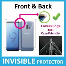 Samsung Galaxy S9 PLUS Screen Protector Invisible FRONT and BACK Shield