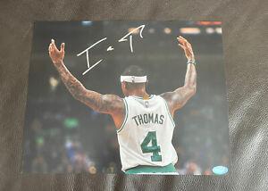 Isaiah Thomas Signed Autographed 11x14 Photo USA SM Coa Boston Celtics
