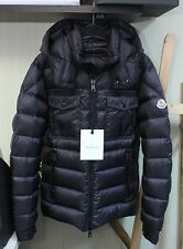 Authentic New Moncler Edward Down Jacket for Men in Navy Size 2/US Medium