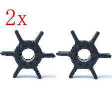 2X 63V-44352-01-00 Water Pump Impeller for Yamaha 9.9HP 15HP 20HP Outboard Motor