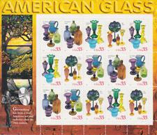 USA - Michel-Nr. 3148-3151 als Kleinbogen, postfrisch/**  (Amerikanisches Glas)