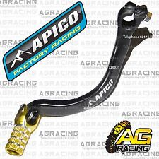 Apico Black Yellow Gear Pedal Lever Shifter For Suzuki RM 125 1998 Motocross